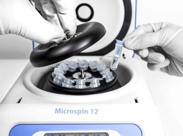 Mini centrífuga Microspin 12