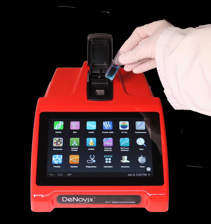 DS-C rojo DeNovix