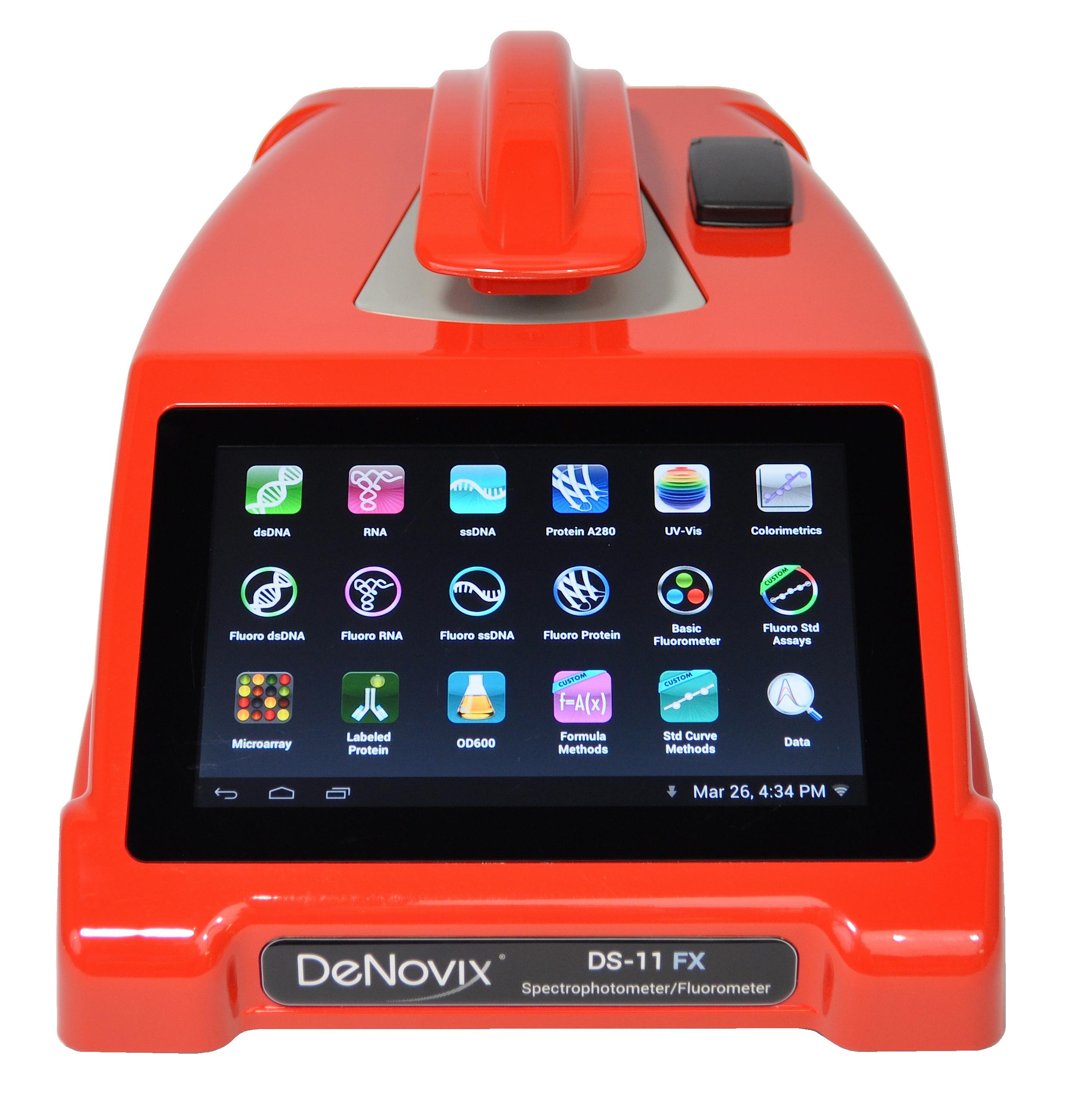 Espectrofotómetro DS11 de DeNovix