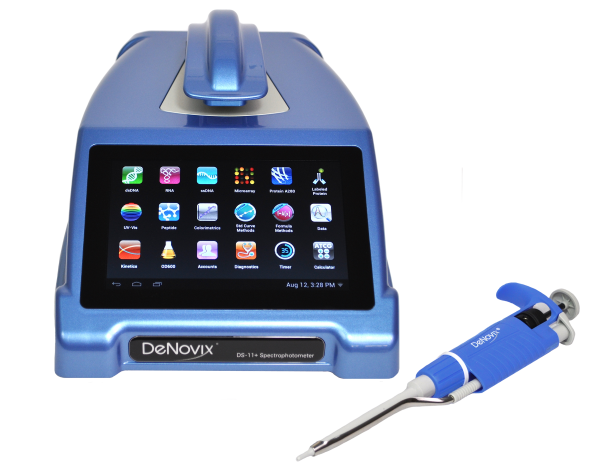 blue ds11 with pipette